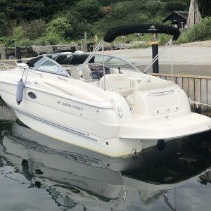 """""""SOLGT"""" Monterey 250/275 CR Sport Cruiser"""